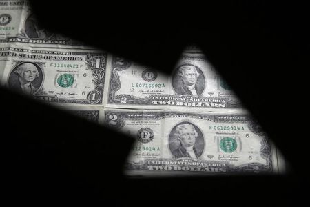 Dollar resumes descent against safe-haven currencies as virus spreads
