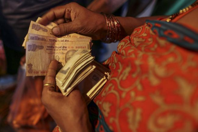 India Halts Trading for First Time Since 2009, Rupee at New Low