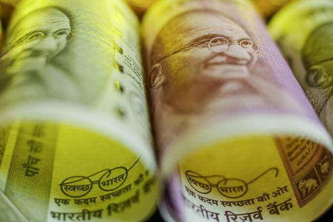 Rupee Drops Toward Record Low as Virus Scare Worsens Growth Woes