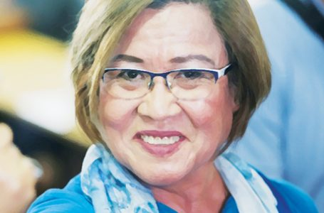 DoJ wants De Lima, lawyer cited in contempt for talking about trial