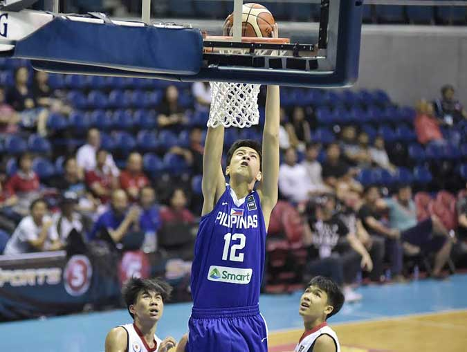 Sotto to suit up for Gilas Pilipinas in FIBA ACQ third window in Clark