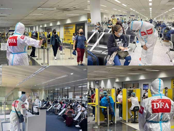 350 more Filipinos come home